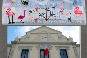 Yarn Bombing ou tricot de rue...