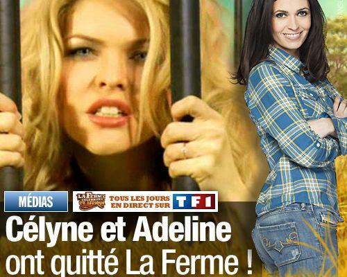 Célyne et Adeline ont quitté La Ferme ! (Mis à jour)