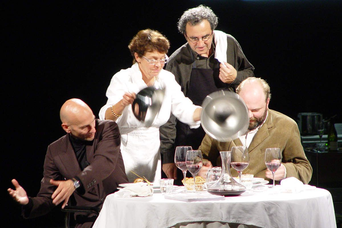 """My Dinner With André"" au Théâtre de Sartrouville"
