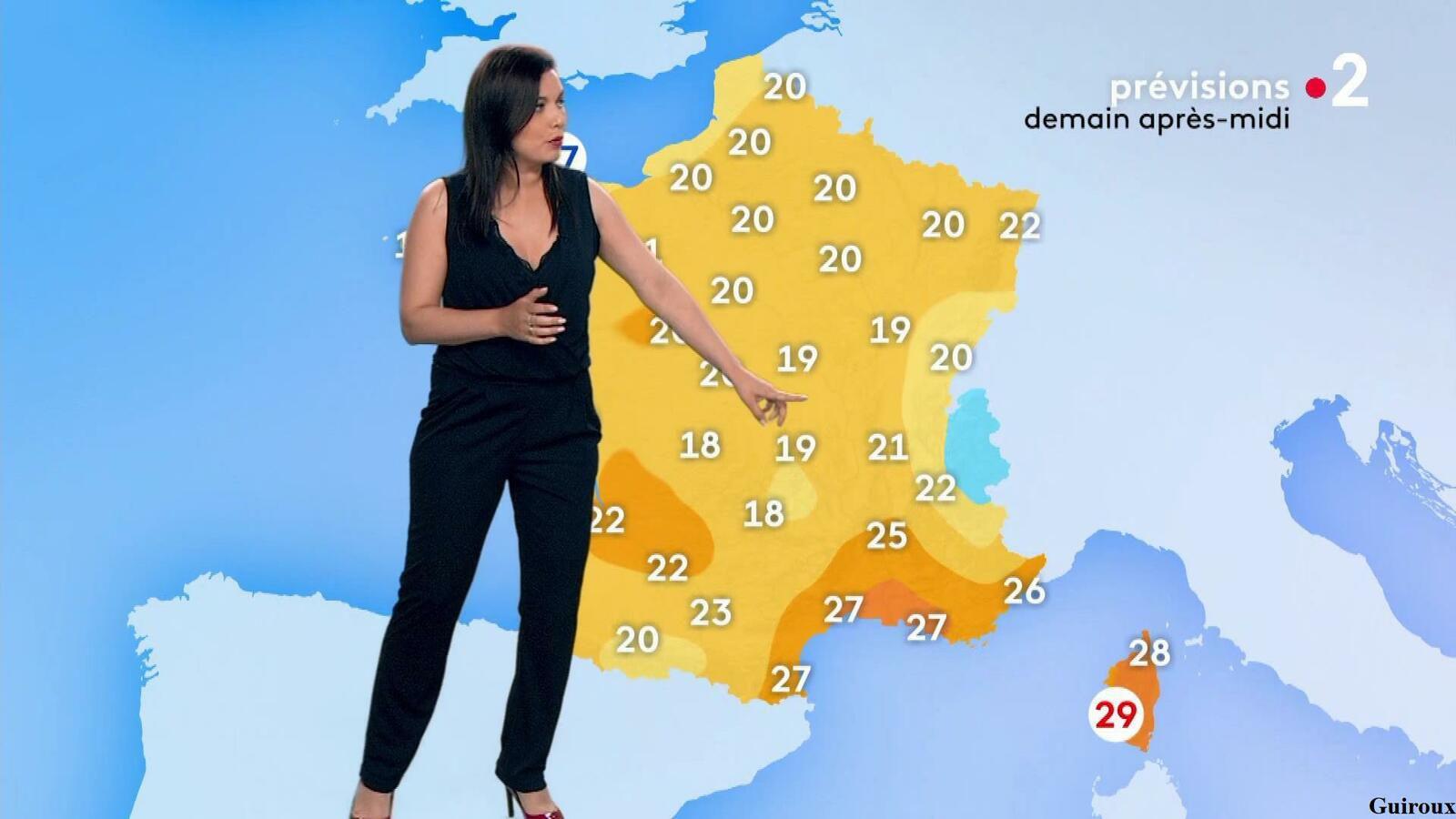 Anaïs Baydemir 23/06/2021 Journaux météo du soir