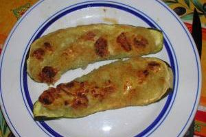 Courgettes gourmande