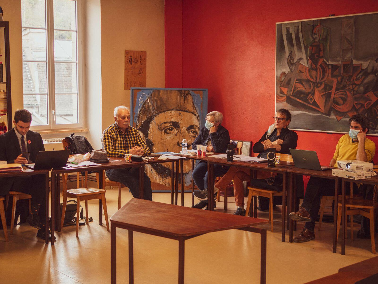 Conférence nationale du PCF - photos de la délégation du Finistère par Eugénie Cazaux, 10 et 11 avril 2021