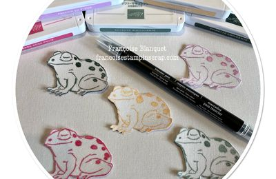 "In Colors 2021-2023    set  ""Prince & Princesse""  Stampin'up!"
