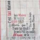 Torchon du Livre d'Amélie, ma nouvelle correction - Chez Mamigoz