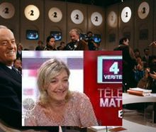 Insupportable promotion médiatique du FN de Mme Le Pen: manifestation devant France-télévisions le 19 mai