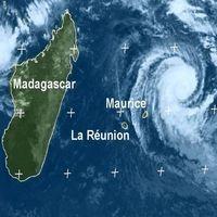 Tempête sur l'Ile Maurice