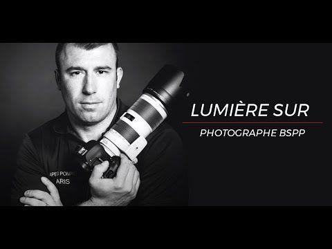 Vidéo - Portrait du Caporal-Chef Mickaël, pompier- photographe chez les pompiers de Paris