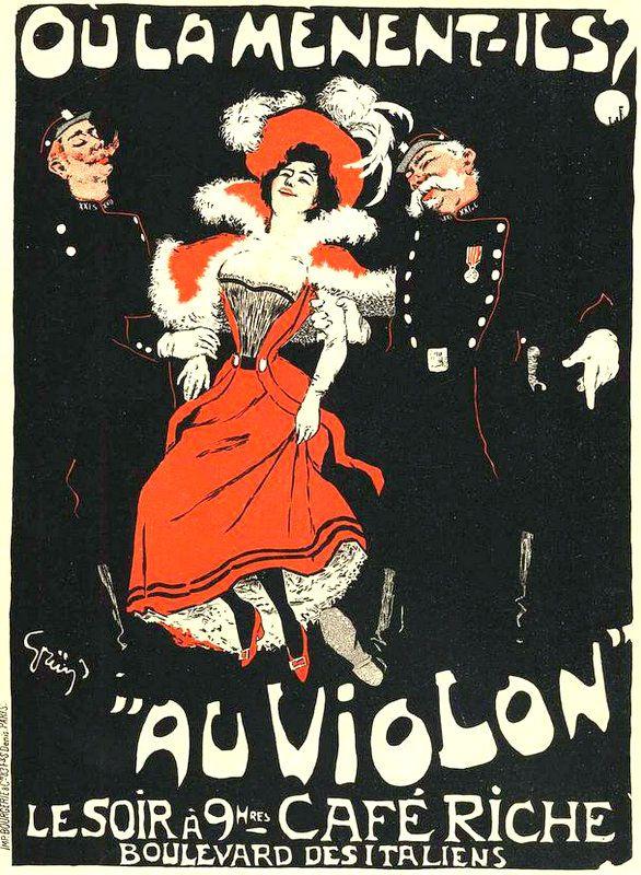 PUBLICITES :  LES  GRANDS  NOMS  DE  L'AFFICHE : ...     Jules  Alexandre GRÜN.