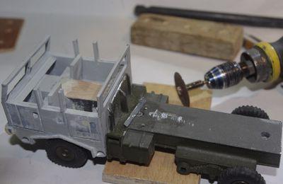 Berliet TBU CLD  (Base Dinky Toys - cabine 3D  par Jean-Pierre B.)