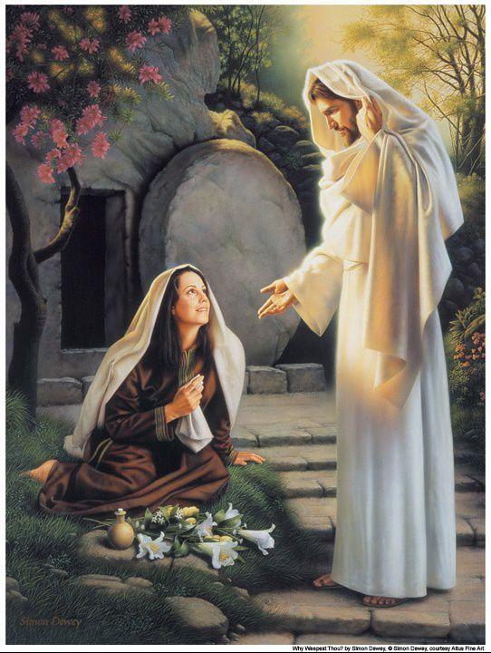 "Evangile du 06 Avril ""J'ai vu le Seigneur !"" (Jn 20, 11-18) #parti2zero #evangile"