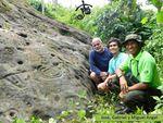Investigador de Arte Rupestre interesado en el Petroglifo de río Anus Lcdo. José Rafael Méndez