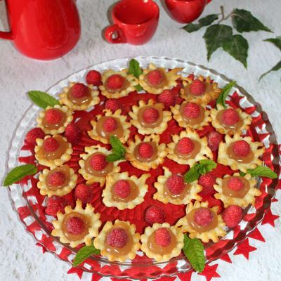 Petits palets apple strawberry