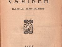 "J.-H. Rosny ""Vamireh"" (Plon - 1926)"