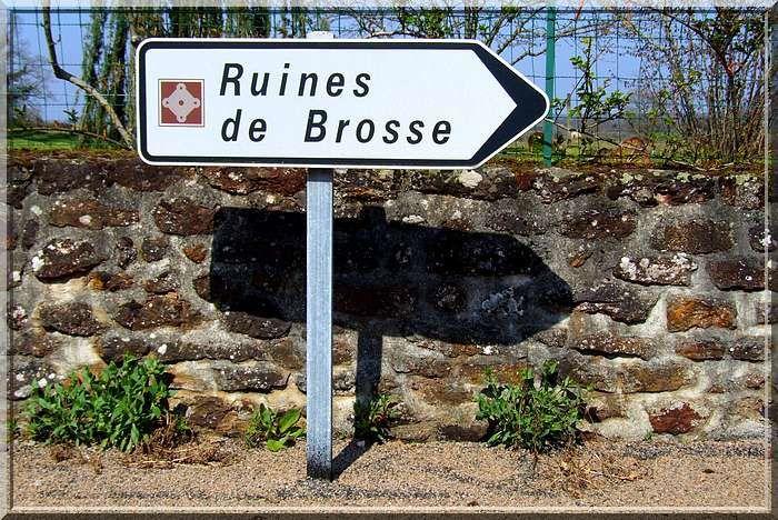 Diaporama château de Brosse à Chaillac
