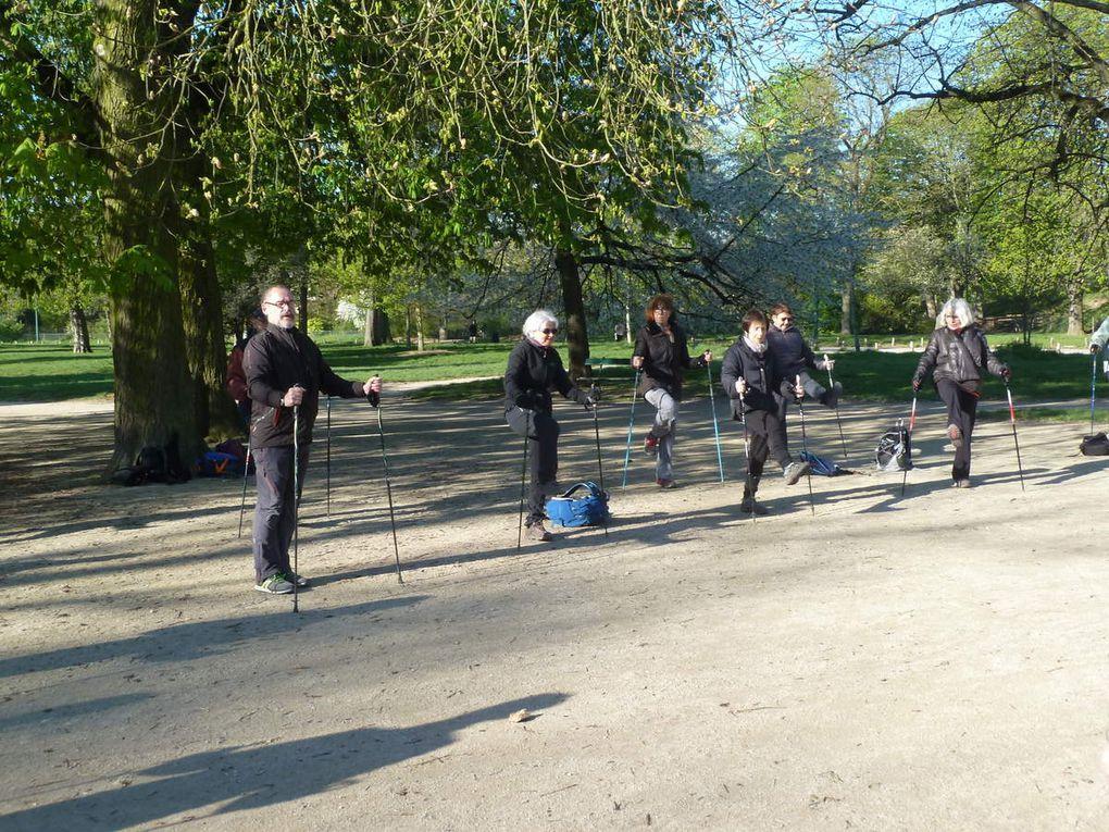 Marche Nordique au Bois de Vincennes - 8,9 km.