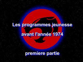 DAnime : Début des programmes jeunesse jusqu'en 1974