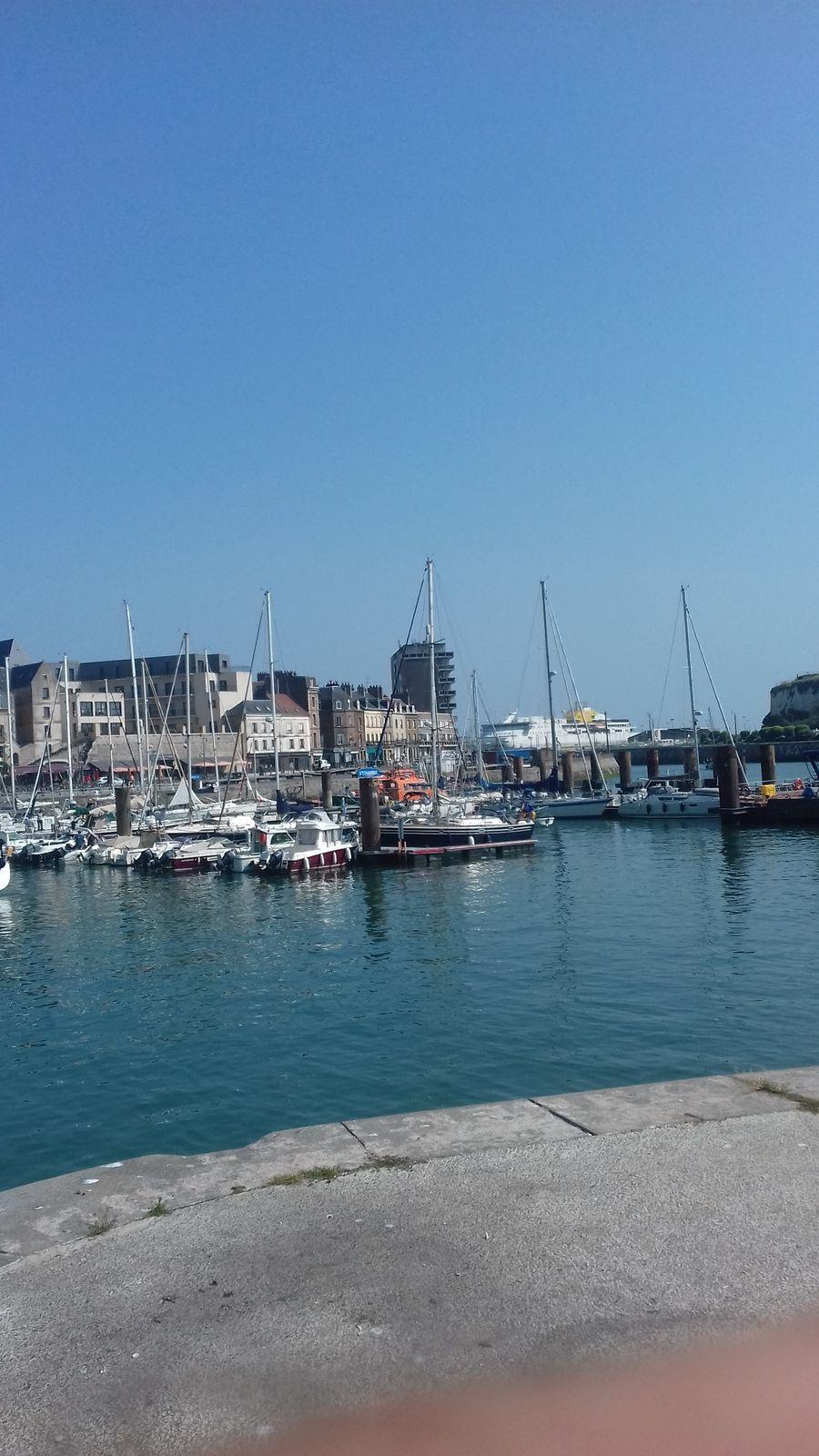 Dieppe : en ce moment nous sommes en Corse ...