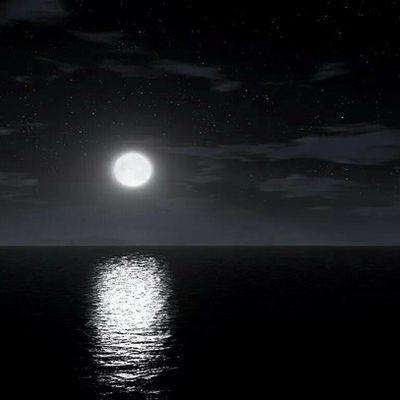 Mer, veilleuse de mes nuits.
