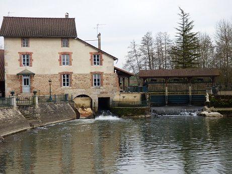 Le moulin de Veyriat à Lescheroux (01560)