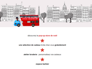 Impérial Celio … le Bus Pop-up store qui visite Paris à la rencontre de ses clients.