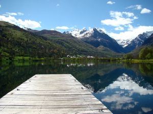 Lac de Génos Loudenvielle - Mai 2012