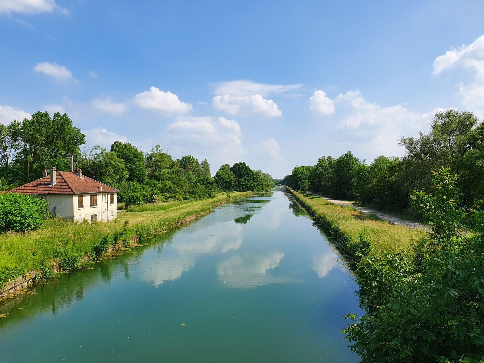 La Marne et son canal à La Chaussée-sur-Marne