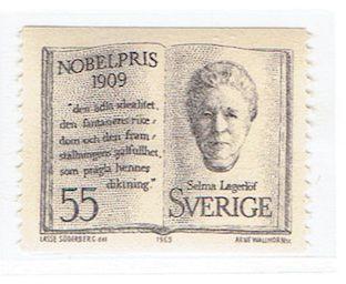 Selma Lagerlöf, Prix Nobel de Littérature en 1909