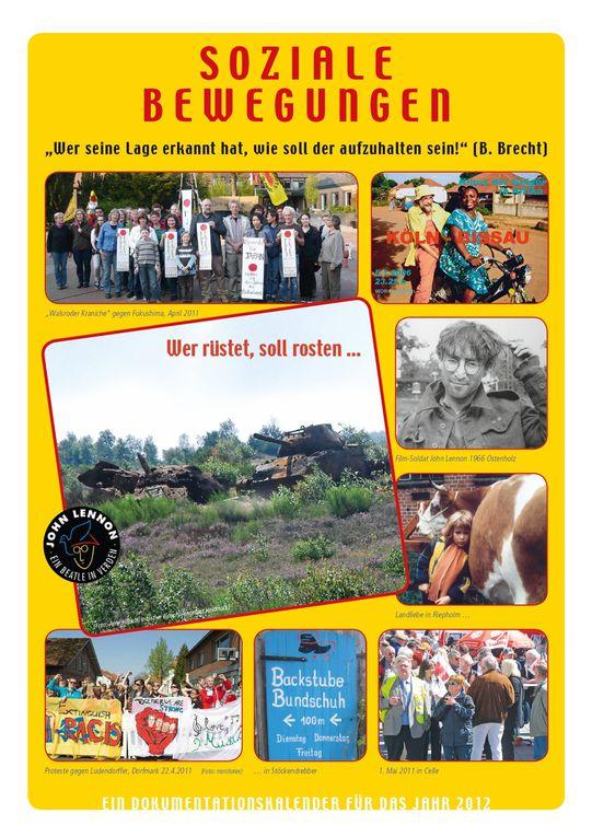 Kalender 2012 soziale Bewegungen