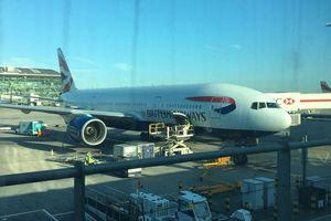 Mission de retour - Correspondance à Londres