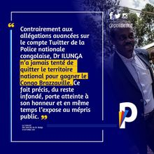 RDC : Dr Oly Ilunga, ancien ministre de la Santé, toujours dans le collimateur de la Police #2