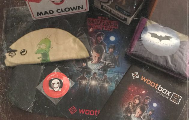WOOTBOX «Nightmare» Octobre 2017 [unboxing]