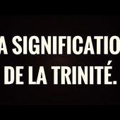 LA SIGNIFICATION DE LA TRINITÉ./الأقانيم الثلاثة, SH.SALIH AL-SHEIKH