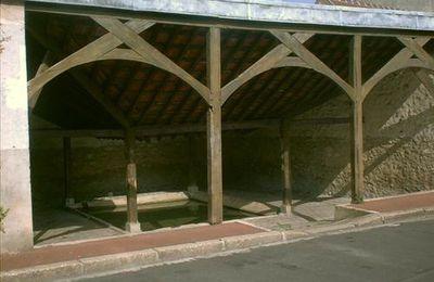 Le lavoir de Jouy-la-Fontaine