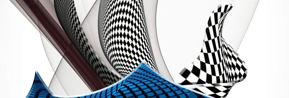 Abstraction à damier
