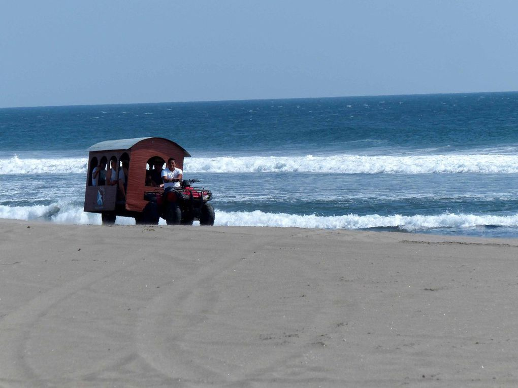 Potzun, Atitlan (Guatemala) Playa La Escobilla (Mexique)