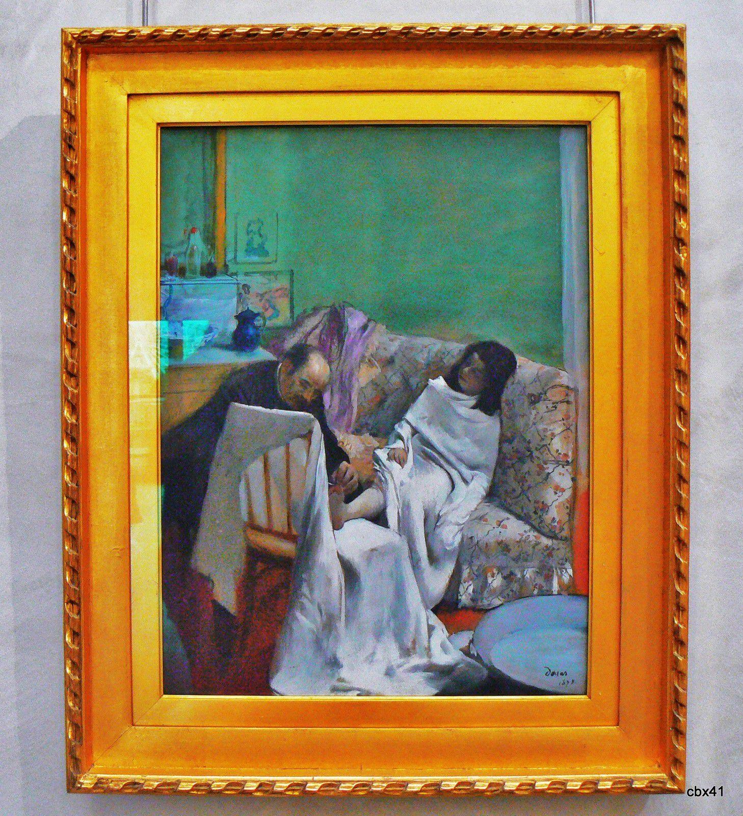 Edgar Degas, Le pédicure