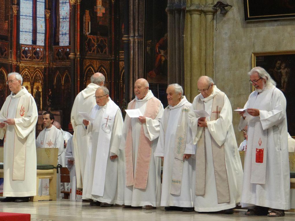 24 juin 2018 : Messe des jubilaires et admissions au sacerdoce en la cathédrale de Bayonne
