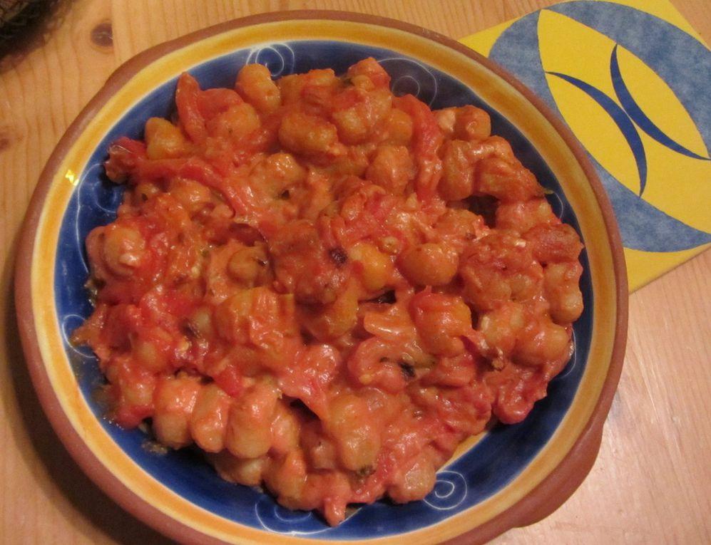 Gnocchetti aux poivrons
