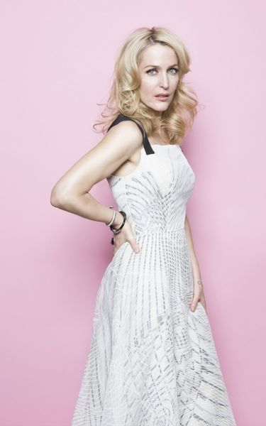 Gillian Anderson, made in Chicago