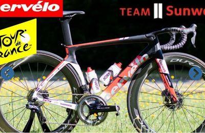 TDF 2020 : Le vélo de notre favori #7 -     Découvrez tous les vélos du Tour de France 2020, chaque jour nous vous présentons en vidéo le vélo de notre favori de l'étape.  Pour cette 7ème étape, voici le Cervelo S5 du Team Sunweb utilisé par notre favori du jour : Cees Bol. _ (Vélo 101, le site officiel du Vélo ®)