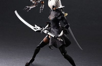 Nier: Automata PLAY ARTS Kai 2B (YoRHa No.2 Type B DX version)