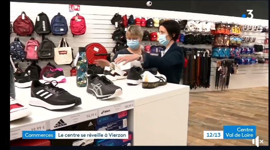Vierzon au journal de France 3