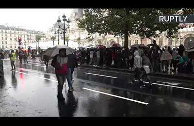 En France, contre le pass sanitaire