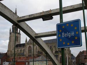 De Mons-en-Baroeul à la frontière belge : Wervik, Warneton, le long de la Lys