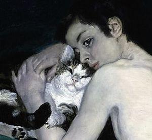 Garçon avec un chat (Renoir)