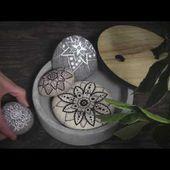 DIY Panduro - Doodle on stones
