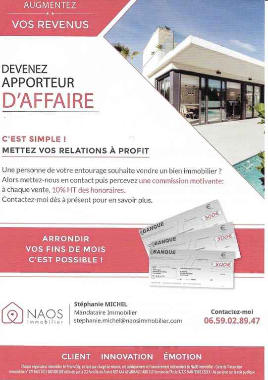 Stéphanie MICHEL Immobilier Ile Saint-Denis