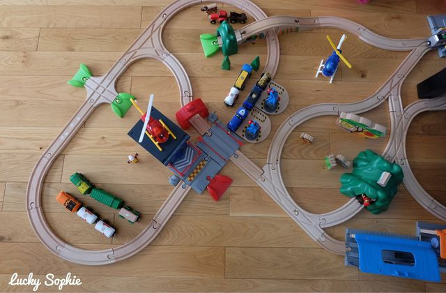 Brio World, des circuits de plus en plus complexes !