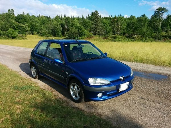CANADA : MEET WITH STIRLING'S PEUGEOT 106