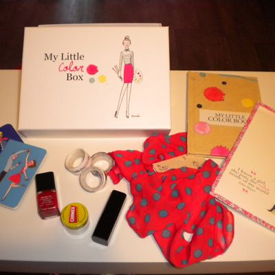 My Little Color Box : Packed with Love ...